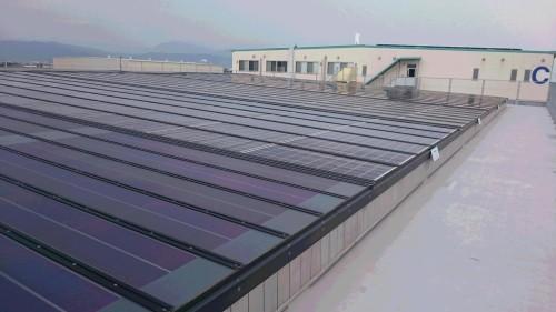 屋上のモジュール比較